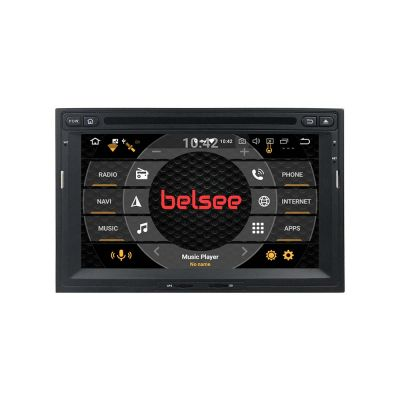 Belsee Best Aftermarket Stereo Upgrade Android 10 Q Auto Head Unit for Peugeot 3008 5008 Partner Citroen Berlingo 2008-2016 In Dash Car GPS Navigation Audio Video System Multimedia DVD CD Player 7 inch Touch IPS Screen Radio Replacement PX5 PX6 Ram 4G