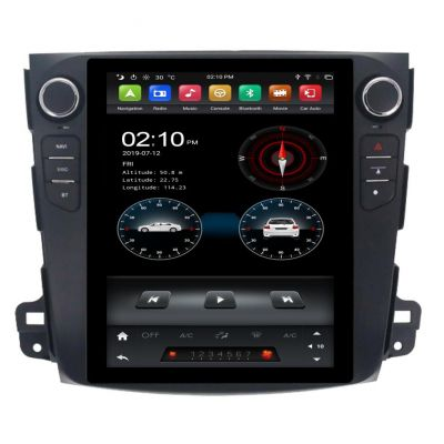 Belsee Tesla Style Android 9 Auto Head Unit Best Aftermarket 9.7 inch Touch Screen Upgrade Stereo Car Radio Replacement for Toyota Corolla 2008-2013 GPS Navigation Multimedia Player System PX6 Ram 4GB Rom 64GB Apple CarPlay Bluetooth Wifi
