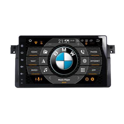 Belsee 9 inch BMW E46 M3 Head Unit Navigation Car Radio Android 8.0 Oreo Octa Core PX5 Ram 4GB Rom 32GB Sat Nav Single 1Din Stereo Wifi