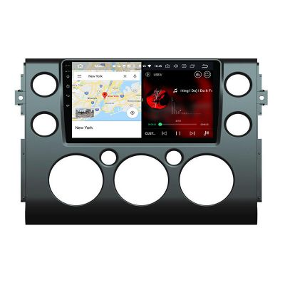 Belsee Best 9 inch Touch Screen Upgrade Android 10 Q System Head Unit Car Radio Replacement for Toyota FJ Cruiser 2006-2019 GPS Navigation Aftermarket Stereo Sat Nav Audio Video Multimedia Player Apple CarPlay Bluetooth Wifi PX6 Ram 4Gb Rom 64GB Receiver