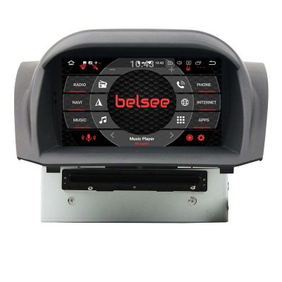 Belsee Best Aftermarket Radio Android 8.0 Oreo Head Unit Ford Fiesta 2013-2017 Sat Nav Navigation System Autoradio Car Stereo Upgrade Octa Core PX5 Ram 4GB Rom 32GB 8