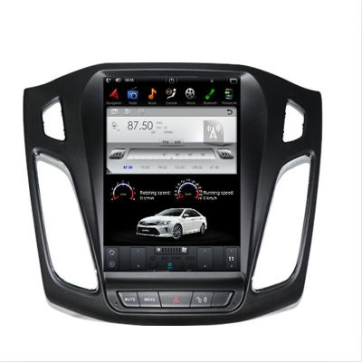 Belsee Ford Focus 2012-2017 Aftermarket Tesla Style Screen 10.4 Inch IPS Vertical Android 7.1 Nougat Head Unit Auto Part Radio Stereo In Dash GPS Navigation Audio System Carplay Bluetooth Receiver