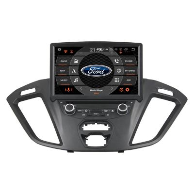 Belsee Best Aftermarket Android 10 Auto Head Unit Wireless Apple CarPlay radio Replacement for Ford Transit Custom 2014-2019 8 inch IPS Touch Screen Stereo Upgrade Sat Nav Bluetooth Wifi GPS Navigation System Multimedia Player PX6