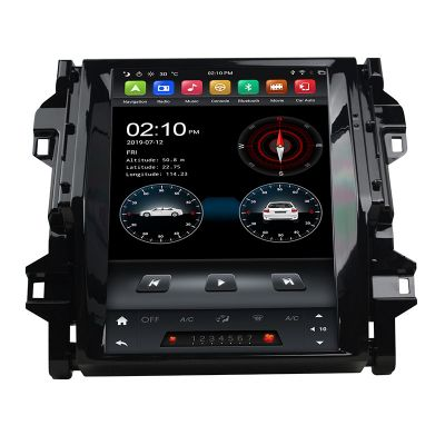 Belsee Best Aftermarket Tesla Style 12.1 inch Touch Screen Stereo Ugrade Player Android 9.0 Pie System Auto Head Unit for Toyota Fortuner 2016-2019 Radio Replacement Apple CarPlay PX6 Ram 4GB Rom 64GB Receiver Sat Nav GPS Navigation Audio