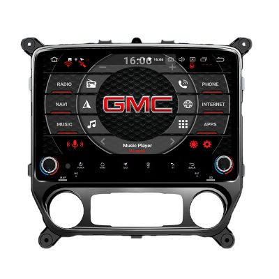 Belsee Best Aftermarket Android 9.0 Head Unit Car Radio Replacement Stereo Upgrade Part for GMC Sierra VIA VTRUX truck Chevrolet Silverado LD Auto AC 2013-2018 10.1 inch Touch Screen GPS Navigation Audio Sound System Octa Core PX5 Ram 4GB Apple CarPlay