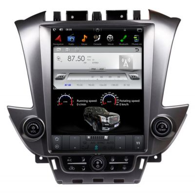 Belsee 12.1 inch Tesla Style Touch Screen Android 9.0 Auto Radio Stereo Upgrade for GMC Yukon Chevrolet Chevy Tahoe Suburban 2014-2020 Best Aftermarket GPS Navigation System Replacement Head Unit Audio Bluetooth Apple CarPlay PX6 Ram 4GB Multimedia Player
