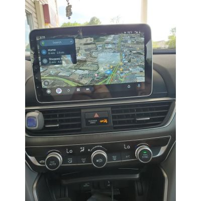 Belsee Best Aftermarket 10.1 Inch Touch Screen Android 10 Q Car Radio Replacement GPS Navigation Stereo Upgrade for Honda Accord 10th gen 2018 2019 2020 Plug and Play Head Unit Audio System Multimedia Player Apple CarPlay Wifi Bluetooth PX6 Ram 4GB Rom 64