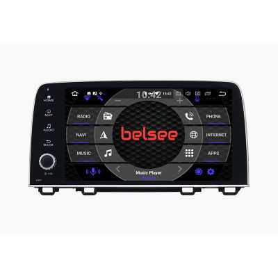 Belsee Best Aftermarket Android 9.0 Pie Head Unit Stereo Upgrade Radio Replacement Parts for Honda CR-V CR V CRV 2017-2019 In Dash Plug and Play GPS Navigation System 9 Inch Octa Core PX5 Ram 4GB Rom 64GB Multimedia Player Apple Carplay Android Auto AHD
