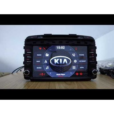 Belsee Aftermarket Android 8.0 Oreo Head Unit Auto Stereo DVD Player for kia Sorento 2015 2016 9 inch Touch Dual IPS Screen Radio Car Multimedia with GPS Navigation System Audio 4K Video HD Octa Core PX5 Ram 4GB Rom 32GB Bluetooth Wifi steering wheel