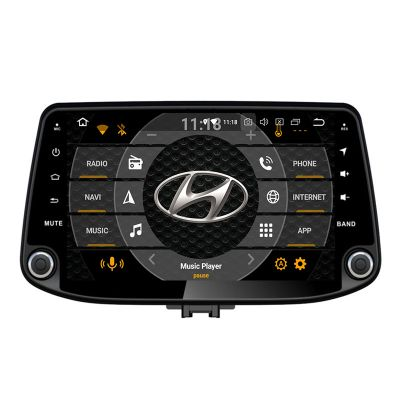 Belsee Aftermarket Hyundai i30 2017 2018 2019 Android 8.0 Head Unit Video Player Auto Stereo Upgrade Radio Replacement Multimedia 9 Inch IPS Touch Screen Receiver GPS Navigation System Octa Core PX5 Ram 4GB Rom 32GB support Carplay Android Auto Wifi