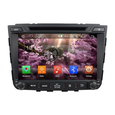 Belsee Aftermarket 8 inch IPS Dual Touch Screen Android 8.0 Oreo Head Unit Car Multimedia Player for Hyundai ix25 Creta 2014 2015 GPS Navigation Audio System Double Din DVD 4K Dab+  WIFI Support Carplay Android Auto