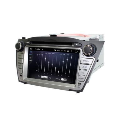 Belsee Aftermarket Android 8.0 Oreo Car GPS Navigation DVD Player Multimedia System for Hyundai Tucson ix35 2009 2010 2011 2012 2013 7 inch Touch Dual Screen Head Unit Stereo Audio DAB+ Radio 8 Core PX5 Ram 4GB Rom 32GB support Carplay Android Auto Wifi