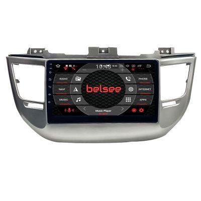 Belsee Best Aftermarket Android 10 Auto Head Unit for Hyundai Tucson IX35 2015-2018 RHD Right Hand Drive Stereo Upgrade Wireless Apple CarPlay Radio Replacement Bluetooth Wifi GPS Navigation Audio System 10.1 inch IPS Touch Screen Sat Nav