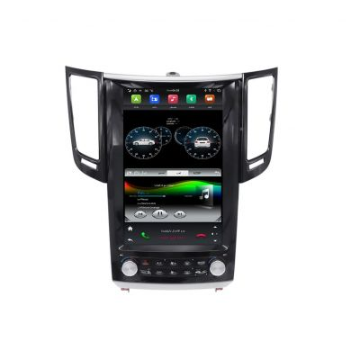 Belsee Best Aftermarket Tesla Style Screen Upgrade Android 9.0 Auto Head Unit Radio Replacement for Infiniti FX QX70 FX25 FX35 FX37 2008-2014 GPS Navigation System Apple CarPlay PX6 Ram 4GB Rom 64GB 1920x1080 Resolution Multimedia Player DSP Stereo