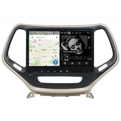 Belsee Best Aftermarket Android 9.0 Auto Head Unit Car Radio Replacement Stereo Upgrade for Jeep Grand Cherokee 2014 2015 2016 2017 2018 2019 In Dash GPS Navigation Multimedia System 10.1 inch Touch Screen DSP Apple CarPlay Android Auto Octa Core PX5 4GB