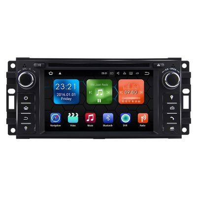 Belsee Best Jeep Wrangler Dodge Chrysler Head Unit Android 8.0 Oreo Octa Core PX5 Ram 4GB Rom 32GB Single Din Car Stereo Touch Screen Upgrade Radio Bluetooth Wifi
