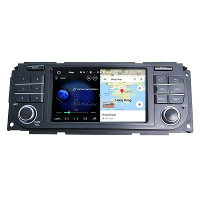 Belsee Best Aftermarket Android 10 Q Auto Head Unit Radio Replacement Stereo Upgrade for Jeep Wrangler Grand Cherokee Liberty Dodge Ram Durango Chrysler 300M 7 inch Screen In Dash GPS Navigation Audio Multimedia Player Apple CarPlay Bluetooth PX6 DSP Wifi