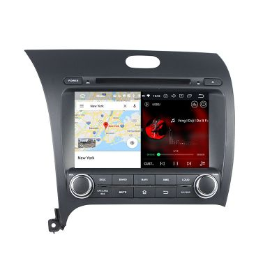 Belsee Best Aftermarket Android 10 Q Auto Stereo Head Unit Upgrade Radio Replacement for Kia Cerato Koup Si Forte K3 2013-2018 Apple CarPlay 8 inch IPS Touch Screen GPS Navigation System Audio Bluetooth Wifi Multimedia Player Sat Nav PX6 4+64GB