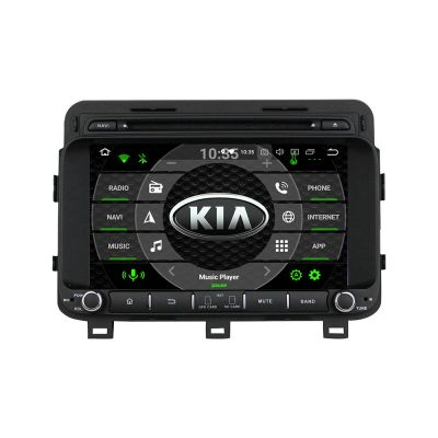 Belsee Aftermarket Android 8.0 Oreo Auto GPS Navigation Radio 2 Din for Kia Optima K5 2014 2015 8 inch touch Screen Stereo Head Unit Octa Core PX5 Ram 4GB Rom 32GB Multimedia DVD Player Bluetooth support Wifi Carplay Android Auto OBD2