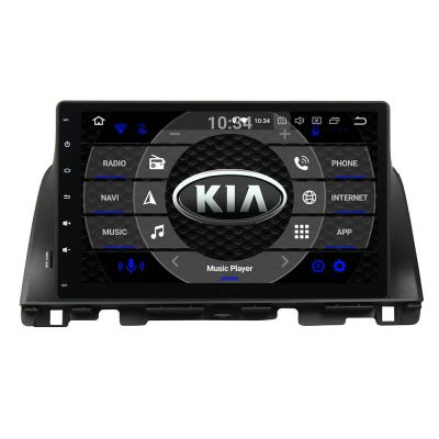 Belsee Best Aftermarket Kia K5/Optima 2015-2020 Car Radio Replacement Stereo Upgrade 10.1 inch Touch Screen Android 10 Auto Head Unit GPS Navigation Audio System Wireless Apple CarPlay PX6 Multimedia Player Bluetooth Wifi