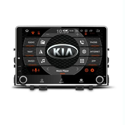 Belsee Aftermarket Android 8.0 Oreo Stereo Head Unit Auto Radio USB Multimedia for Kia Rio 4 K2 2017 2018 2019 9 Inch IPS Touch Screen GPS Navigation System Audio Video 4K Player Octa Core PX5 Ram 4GB Rom 32GB Bluetooth Wifi TPMS support Apple Carplay