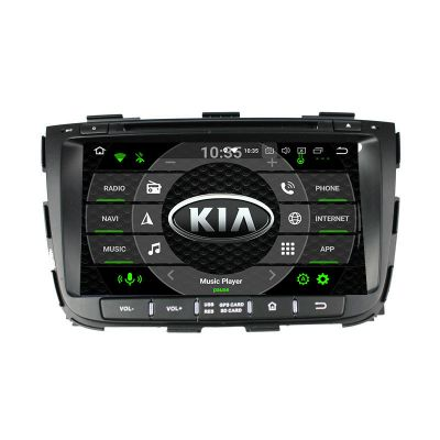 Belsee Best Aftermarket Wireless Apple CarPlay Android 10 Auto Head Unit Car Radio Replacement Stereo Upgrade for KIA Sorento 2012 2013 2014 2015 8 inch Touch Dual IPS Screen GPS Navigation System PX6 DSP Ram 4GB Audio Video DVD Player OBD2 Wifi Multi
