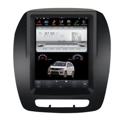 Belsee Best Aftermarket 10.4 inch HD IPS Touch Vertical Screen Tesla Style Radio Replacement for Kia Sorento 2013-2015 Android 9 Auto Apple CarPlay Head Unit Stereo Upgrade GPS Navigation Sat Nav Multimedia Player WIfi Bluetooth DAB