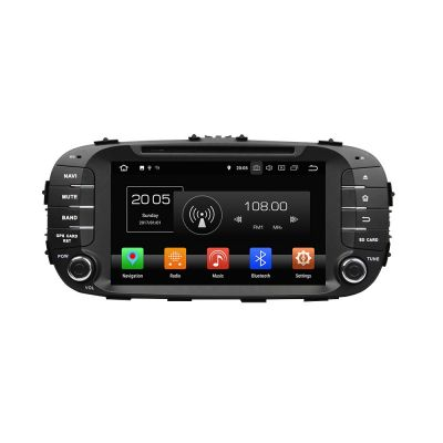 Belsee Aftermarket Best Android 8.0 Car DVD Video Player GPS Navigation System for KIA Soul 2013 2014 2015 2016 Radio Replacement 8
