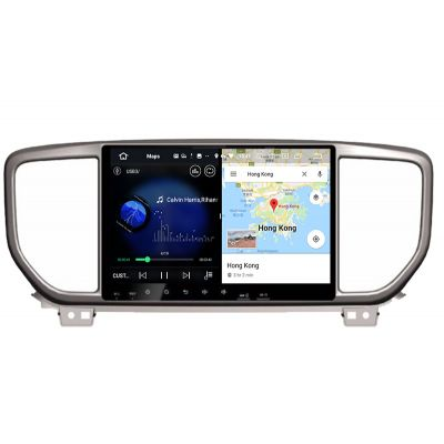 Belsee Best Aftermarket 9 Inch IPS Touch Screen Android 10 Auto GPS Navigation Radio Replacement Stereo Upgrade Head Unit for 2019 2020 2021 Kia Sportage Part Multimedia Player Bluetooth Wireless Apple CarPlay Wifi Spotify Sat Nav