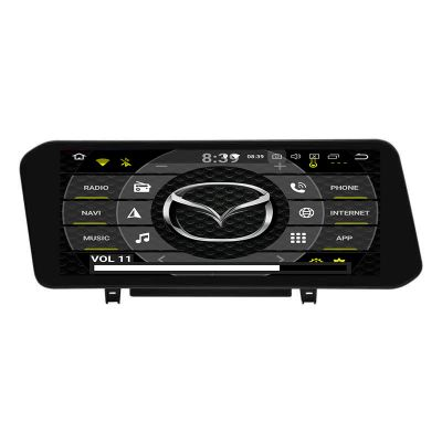Belsee Best Aftermarket Mazda 3 2019-2021 10.25 inch Touch Screen Wireless Apple CarPlay Android 10 Auto Head Unit Video Audio Multimedia Player PX6 DSP GPS Navigation System Stereo Upgrade Car Radio Replacement Bluetooth Wifi Sat Nav Ram 4GB Rom 64GB