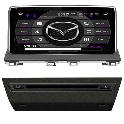Belsee Aftermarket Octa Core PX5 Ram 4GB Rom 64GB Android 9.0 Pie Auto Head Unit Radio Stereo Upgrade for Mazda 3 2013 2014 2015 2016 2017 2018 10.25 inch IPS Touch Screen GPS Navigation Apple Carplay Multimedia Player Audio System