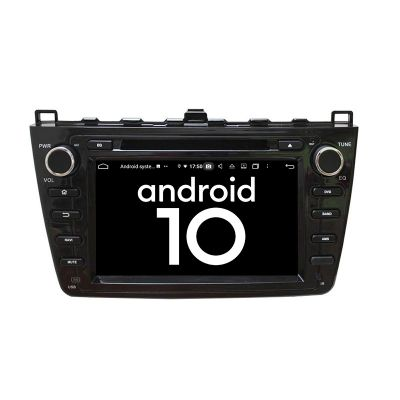 Belsee Best Aftermarket Mazda 6 Ruiyi Ultra 2008 2009 2010 2011 2012 Android 9.0 Pie Auto Head Unit Radio Replacement Car Stereo Upgrade 8 inch IPS Touch Screen 1280x720 Resolution Multimedia Player In Dash GPS Navigation Audio Sound System Apple CarPlay