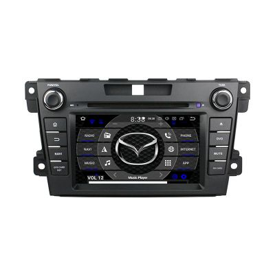 Belsee Best Aftermarket Mazda CX7 CX 7 CX-7 2008-2015 Android 9.0 Pie Auto Head Unit Car Radio Replacement Stereo Upgrade In Dash GPS Navigation System 7 inch Touch Screen Octa Core PX5 Ram 4GB Rom 64GB Apple CarPlay Android Auto Bluetooth Receiver