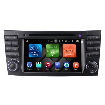 Belsee Best Aftermarket Mercedes-Benz E-Class W211 Radio Upgrade Navi Bluetooth Autoradio Android 8.0 Octa 8 Core PX5 Ram 4GB Rom 32GB Head Unit Wifi DAB+ OBD2
