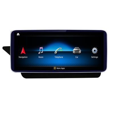 Belsee Mercedes-Benz E-Class W212 2009-2016 Android 10 Q Auto Retrofit 10.25 inch Touch Screen Upgrade Head Unit Player GPS Navigation System Radio Replacement Apple CarPlay
