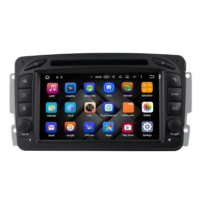 Belsee Best Aftermarket In Dash Car GPS Navigation Rado Upgrade Android 8.0 Oreo Octa Core PX5 Ram 4GB Stereo DVD Player Receiver for Mercedes-Benz C-Class W203 CLK C209 W209 M/ML-Class W163 A-Class W168 Viano & Vito W639 G-Class W463