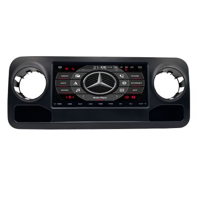 Belsee Best Aftermarket Wireless Apple CarPlay Android 10 Auto Radio Replacement Head Unit Stereo Upgrade for Mercedes-Benz Sprinter 2019 2020 2021 10.25 inch Touch Screen GPS Navigation Entertainment System PX6 Wifi Bluetooth Sat Nav DAB+ Audio Player