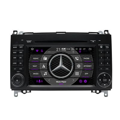 Belsee Best Aftermarket Android 10 Auto Radio Replacement GPS Navigation Stereo Upgrade for Mercedes-Benz A-Class W169 B-Class W245 Viano Vito W639 Sprinter W906 Wireless Apple CarPlay DSP Multimedia CD DVD Player Audio Head Unit PX6 Wifi Bluetooth Screen