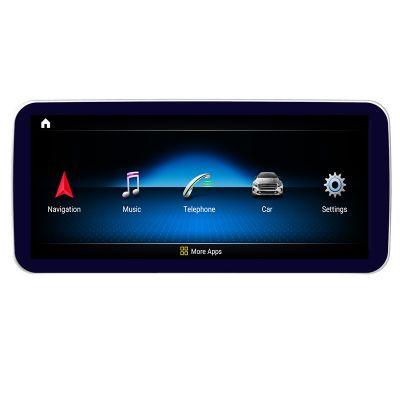 Belsee Best Aftermarket Mercedes-Benz A-Class W176 GLA-Class X156 CLA-Class w117 Android 9.0 Auto Head Unit Radio Replacement Stereo Upgrade 10.25 inch Blue-ray Anti-glare HD IPS Screen Multimedia Player Apple CarPlay Ram 4GB Rom 64GB GPS Navigation