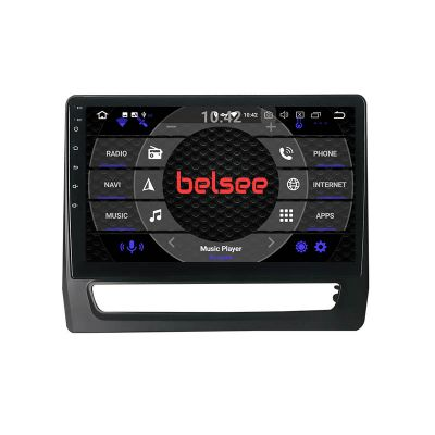 Belsee Best Aftermarket Wireless Apple CarPlay Android 10 Auto Head Unit Stereo Upgrade for Mitsubishi ASX 2019 2020 2021 Radio Replacement GPS Navigation Audio Video Player Multimedia Entertainment System PX6 Bluetooth Wifi 10.1 inch Touch Screen Sat Nav