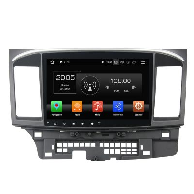 Belsee Aftermarket Mitsubishi Lancer 2008-2016 Android 8.0 Oreo Head Unit Car Radio Auto Stereo GPS Navigation 10.1
