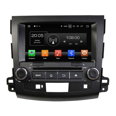 Belsee Best Aftermarket Radio Replacement for Mitsubishi Outlander 2006-2012 Android 8.0 Auto Stereo In Dash GPS Navigation System 8