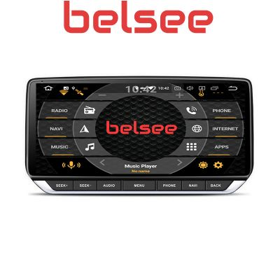 Belsee Best Aftermarket 10.25 inch IPS Touch Screen Android 10 Q Auto Head Unit Car Radio Replacement Stereo Upgrade for Nissan Teana Sylphy Altima 2019 2020 GPS Navigation System Multimedia Audio Video Player Apple CarPlay Bluetooth Wifi PX6 Ram 4GB 64G