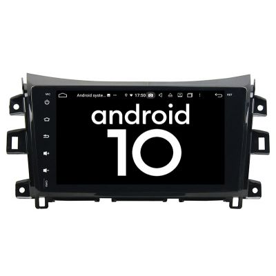 Belsee Aftermarket Android 9.0 Pie Double Din Auto Head Unit Stereo Upgrade Car Radio Replacement for Nissan Navara NP300 2014-2019 9 inch IPS Touch Screen GPS Navigation Audio System Octa Core PX5 Ram 4GB Rom 64GB Multimedia Player Apple Carplay Wifi