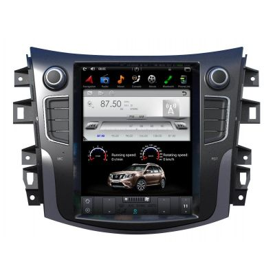 Belsee Best Aftermarket Nissan Terra Navara NP300 2014-2019 10.4 inch Tesla Style Android 9.0 Auto Head Unit Radio Replacement Stereo Upgrade GPS Navigation System Apple CarPlay PX6 Bluetooth Wifi Sat Nav Multimedia Player DSP