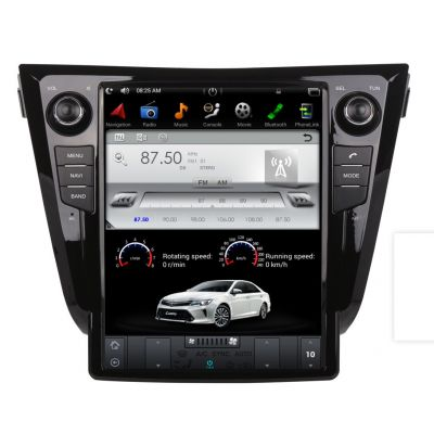 Belsee Best Aftermarket Android 10 Auto Head Unit 12.1 inch Touch Screen Tesla Style Radio Replacement for Nissan X-Trail Qashqai 2013-2020 GPS Navigation System Audio multimedia Player Bluetooth Wifi Apple CarPlay Stereo Upgrade PX6