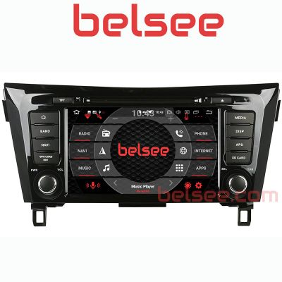Belsee Aftermarket Android 9.0 Head Unit Car Radio Replacement Stereo Upgrade for Nissan X-Trail Qashqai Dualis Rogue 2013 2014 2015 2016 2017 Audio Video Multimedia Player In Dash GPS Navigation System Apple CarPlay Android Auto Octa Core PX5 Ram 4GB 64G