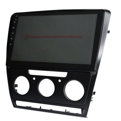 Belsee Best Aftermarket Wireless Android 10 Auto Head Unit Radio Replacement for Skoda Octavia 2007-2014 10.1 inch Touch Screen Apple CarPlay Video Player Multimedia Entertainment GPS Navigation System PX6 Bluetooth Wifi Sat Nav Stereo Audio