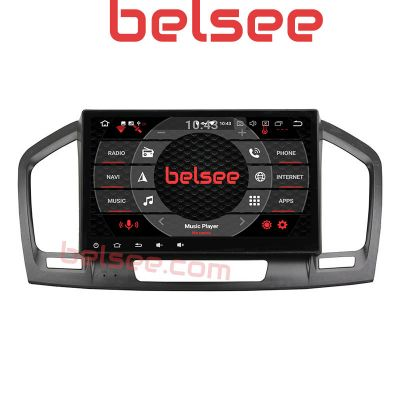 Belsee Best Aftermarket 9 inch IPS Touch Screen Android 10 Auto Head Unit Autoradio Stereo Upgrade for Opel Vauxhall Insignia Buick Regal 2009 2010 2011 2012 2013 In Dash Car GPS Navigation System Radio Replacement Multimedia Video Player Apple Carplay