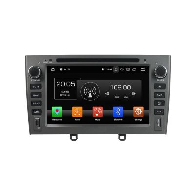 Belsee Best Aftermarket Plug and Play Radio Replacement Peugeot 308 408 308 SW 2007-2010 Android 8.0 Auto Head Unit In Dash Car GPS Navigation System 7